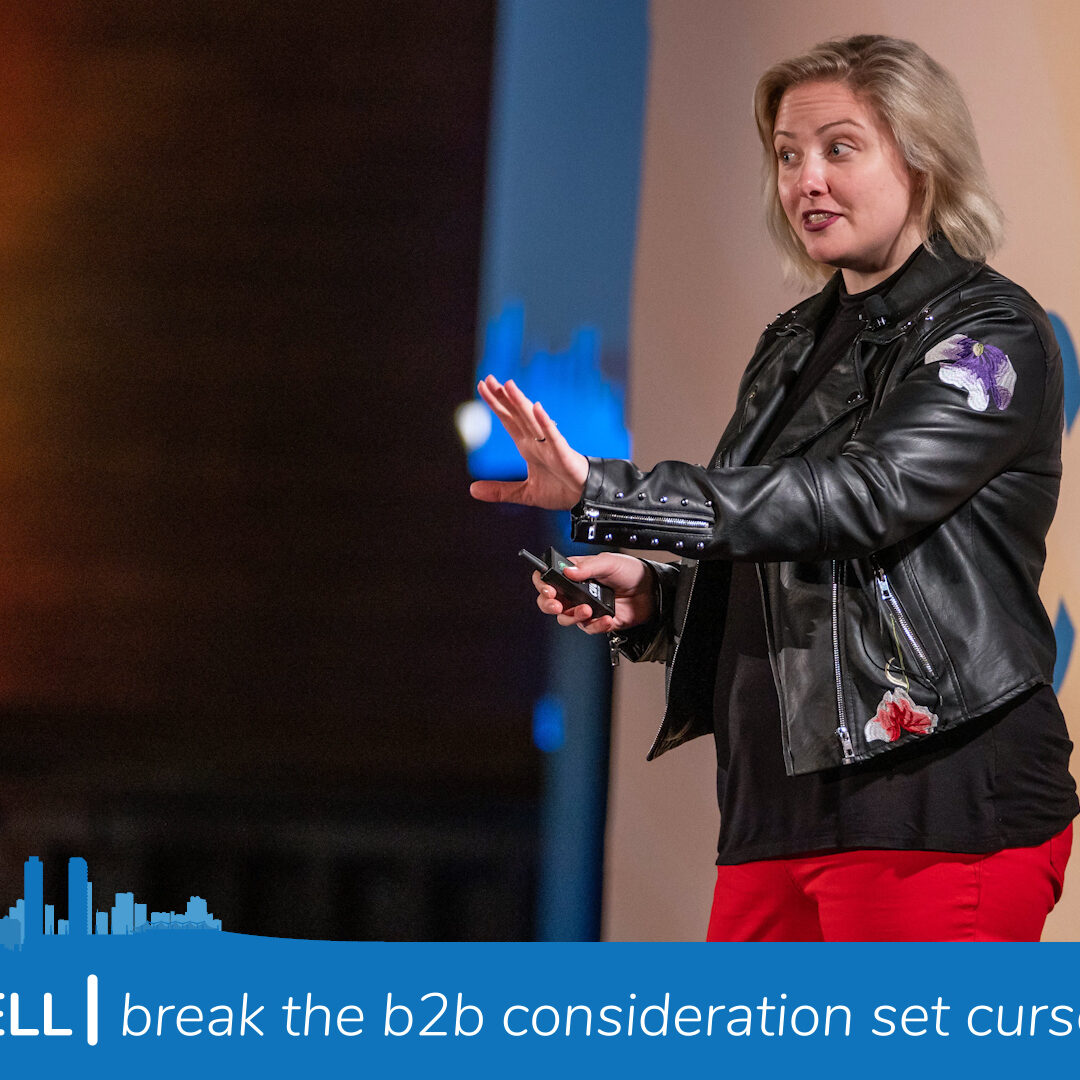 Katie Martell break the B2B consideration set curse