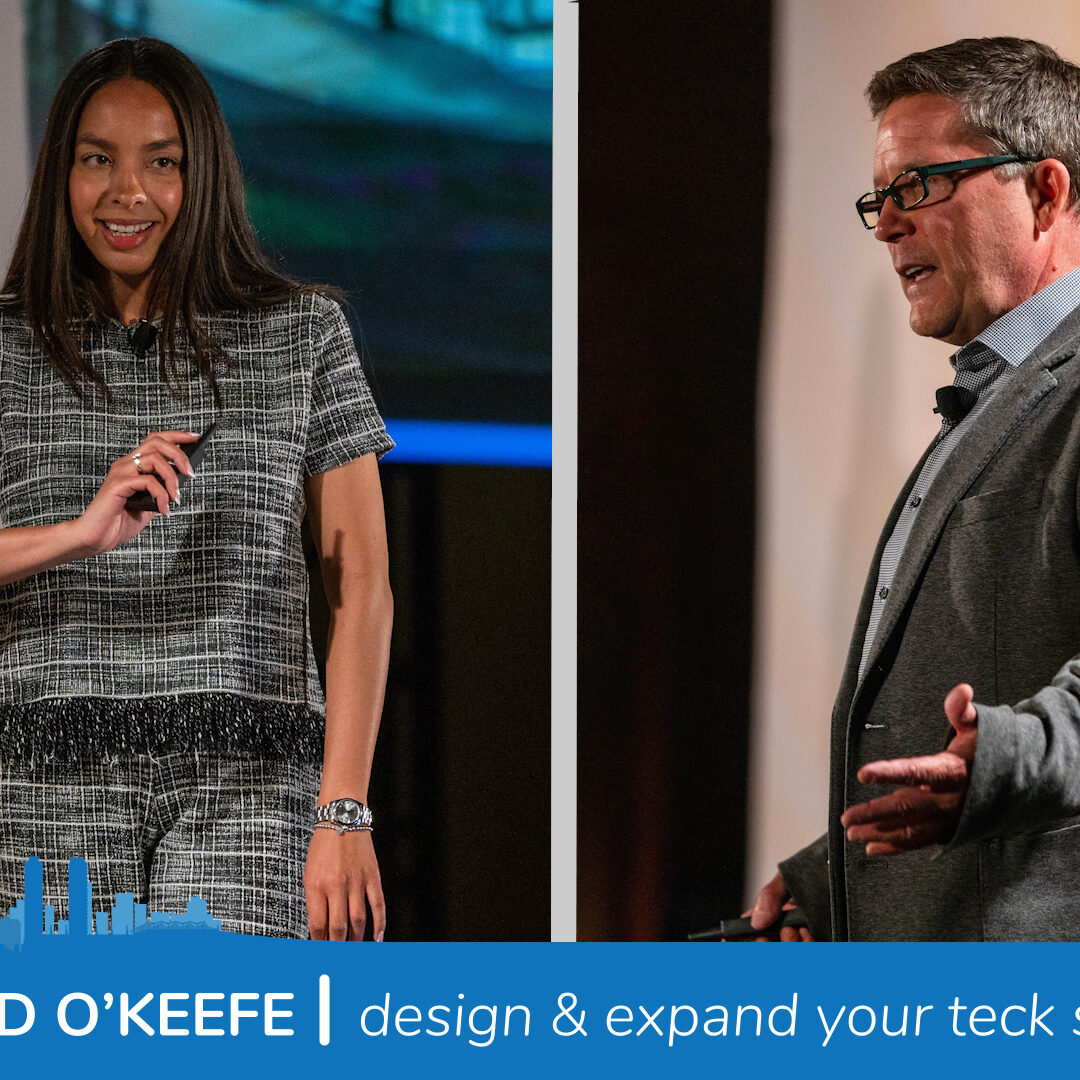 Amy Gill and Ed O'Keefe Design and Expand Your Teck Stack